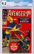 Silver Age (1956-1969):Superhero, The Avengers #35 (Marvel, 1966) CGC NM- 9.2 White pages....