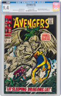 Silver Age (1956-1969):Superhero, The Avengers #41 (Marvel, 1967) CGC NM 9.4 Off-white pages....