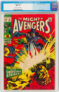 Silver Age (1956-1969):Superhero, The Avengers #65 (Marvel, 1969) CGC NM- 9.2 Off-white to white pages....