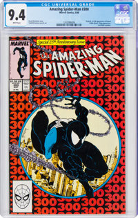 The Amazing Spider-Man #300 (Marvel, 1988) CGC NM 9.4 White pages
