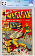 Silver Age (1956-1969):Superhero, Daredevil #2 (Marvel, 1964) CGC FN/VF 7.0 Off-white pages....
