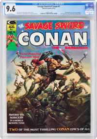 Savage Sword of Conan #1 (Marvel, 1974) CGC NM+ 9.6 White pages