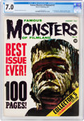 Magazines:Horror, Famous Monsters of Filmland #13 (Warren, 1961) CGC FN/VF 7.0 Off-white to white pages....