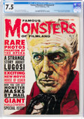 Magazines:Horror, Famous Monsters of Filmland #9 (Warren, 1960) CGC VF- 7.5 Off-white to white pages....