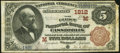 Cassopolis, MI - $5 1882 Brown Back Fr. 471 The First National Bank Ch. # (M)1812 Fine-Very Fine.</