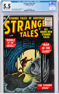 Golden Age (1938-1955):Horror, Strange Tales #41 (Atlas, 1955) CGC FN- 5.5 Off-white to white pages....