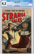 Silver Age (1956-1969):Horror, Strange Tales #46 (Atlas, 1956) CGC VG+ 4.5 Off-white pages....