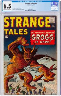 Strange Tales #83 (Marvel, 1961) CGC FN+ 6.5 Cream to off-white pages