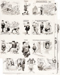 "Original Comic Art:Complete Story, Jack Davis MAD #186 Complete 3-page Story ""Infractions We'd Like To See Called in Everyday Life"" Original Art (EC ... (Total: 3 Original Art)"