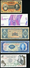 World (Aruba, Bolivia, Colombia, Costa Rica, Curacao, Cuba) Group Lot of 10 Examples Fine-Crisp Uncirculated. ... (Total...