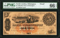 Obsoletes By State:North Carolina, Wilmington, NC- Bank of Wilmington $5 18__ as G2c Proof PMG Gem Uncirculated 66 EPQ.. ...