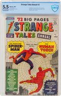 Silver Age (1956-1969):Superhero, Strange Tales Annual #2 (Marvel, 1963) CBCS FN- 5.5 Cream to off-white pages....
