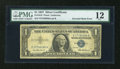 Error Notes:Inverted Reverses, Fr. 1619 $1 1957 Silver Certificate. PMG Fine 12.. ...