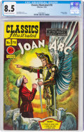 Golden Age (1938-1955):Classics Illustrated, Classics Illustrated #78 Joan of Arc - First Edition (Gilberton, 1950) CGC VF+ 8.5 Off-white to white pages....