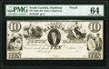 Obsoletes By State:South Carolina, Hamburg, SC- Bank of Hamburg $10 18__ as G6 as Sheheen 229 Proof PMG Choice Uncirculated 64.. ...