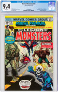 Bronze Age (1970-1979):Superhero, Marvel Premiere #28 Legion of Monsters (Marvel, 1976) CGC NM 9.4 White pages....