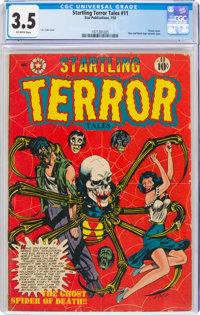 Startling Terror Tales #11 (Star Publications, 1952) CGC VG- 3.5 Off-white pages