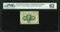 Fractional Currency:First Issue, Fr. 1241 10¢ First Issue PMG Uncirculated 62.. ...