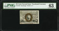 Fractional Currency:Second Issue, Fr. 1318 50¢ Second Issue PMG Choice Uncirculated 63.. ...
