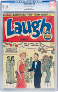 Golden Age (1938-1955):Humor, Laugh Comics #34 (Archie, 1949) CGC VF+ 8.5 Off-white to white pages....