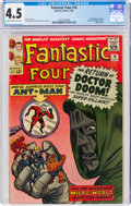 Silver Age (1956-1969):Superhero, Fantastic Four #16 (Marvel, 1963) CGC VG+ 4.5 Cream to off-white pages....