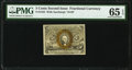 Fractional Currency:Second Issue, Fr. 1233 5¢ Second Issue PMG Gem Uncirculated 65 EPQ.. ...