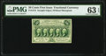 Fractional Currency:First Issue, Fr. 1313 50¢ First Issue PMG Choice Uncirculated 63 EPQ.. ...