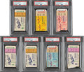 Baseball Collectibles:Tickets, 1956 World Series Collection of Ticket Stubs from Each Gam...