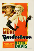 "Movie Posters:Crime, Bordertown (Warner Bros., 1935). Very Fine on Paper. One Sheet (27.5"" X 41""). From the Mike Kaplan Collection.. ..."
