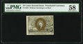 Fractional Currency:Second Issue, Fr. 1283 25¢ Second Issue PMG Choice About Unc 58.. ...