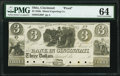 Cincinnati, OH- Miami Exporting Company $3 18__ G99 Wolka 0559-37 Proof PMG Choice Uncirculated 64