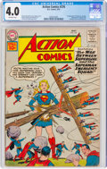 Silver Age (1956-1969):Superhero, Action Comics #276 (DC, 1961) CGC VG 4.0 Off-white pages....