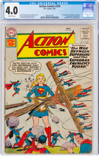 Action Comics #276 (DC, 1961) CGC VG 4.0 Off-white pages
