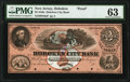 Obsoletes By State:New Jersey, Hoboken, NJ- Hoboken City Bank $3 18__ G6a Wait 791 Proof PMG Choice Uncirculated 63.. ...
