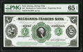 Obsoletes By State:New Jersey, Jersey City, NJ- Mechanics and Traders Bank $50 ___ 1859 G12 Wait 964 Proprietary Proof PMG Gem Uncirculated 65 EPQ.. ...
