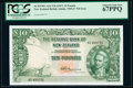 World Currency, New Zealand Reserve Bank of New Zealand 10 Pounds ND (1967) Pick 161d PCGS Superb Gem New 67 PPQ.. ...