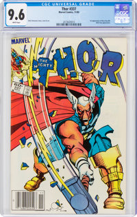 Thor #337 (Marvel, 1983) CGC NM+ 9.6 White pages