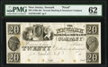 Newark, NJ- Newark Banking & Insurance Company $20 18__ as G128 as Wait 1515 Proof PMG Uncirculated 62. ... (Total:...