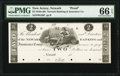 Newark, NJ- Newark Banking and Insurance Comp. $2 18__ as G36 as Wait 1483 Proof PMG Gem Uncirculated 66 EPQ