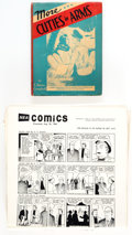 Memorabilia:Comic-Related, Comic-Related Books and Comic Strip Syndicate Proof Sheets Group of 10 (Various Publishers).. ... (Total: 10 Items)