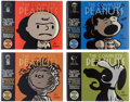 Books:General, The Complete Peanuts Hardcover Volumes Group of 8 (Fantagraphics, 2004-07).... (Total: 8 Items)