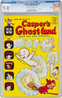 Casper's Ghostland #14 File Copy (Harvey, 1962) CGC NM/MT 9.8 Off-white to white pages