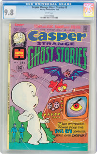 Casper Strange Ghost Stories #3 (Harvey, 1975) CGC NM/MT 9.8 White pages