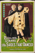 """Movie Posters:Drama, The Shoes That Danced (Triangle, 1918). Folded, Fine/Very Fine. One Sheet (27"""" X 41"""") Farrah Artwork. Drama.. ..."""