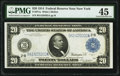 Fr. 971a $20 1914 Federal Reserve Note PMG Choice Extremely Fine 45