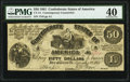 CT14/75E Counterfeit $50 1861 PMG Extremely Fine 40