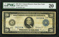 Large Size:Federal Reserve Notes, Fr. 969* $20 1914 Federal Reserve Star Note PMG Very Fine 20.. ...