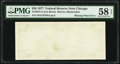 Error Notes:Blank Reverse (100%), Missing Back Printing Error Fr. 2072-G $20 1977 Federal Reserve Note. PMG Choice About Unc 58 EPQ.. ...