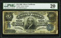 Large Size:Silver Certificates, Fr. 304 $10 1908 Silver Certificate PMG Very Fine 20.. ...
