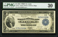 Large Size:Federal Reserve Bank Notes, Fr. 731 $1 1918 Federal Reserve Bank Note PMG Very Fine 30.. ...